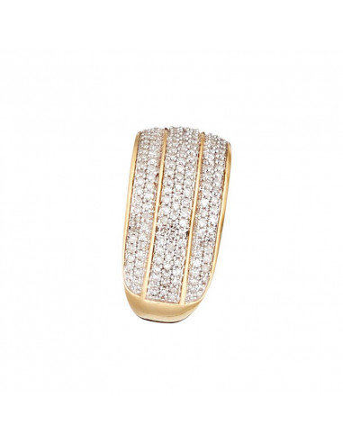 Bague Alliance Eclat Sapphir Or Blanc Et Diamant 0 1ct Saphir 0 41ct Diamanta Paris