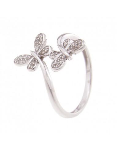 bas prix ad9a4 d5e53 Bague Alliance Passion Or Blanc et Diamant 0,78ct - Diamanta Paris