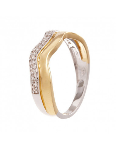 Bague Marabella Or Blanc et Diamant 0,63ct