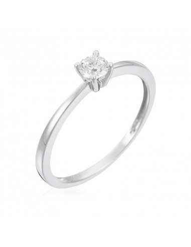 Bague Tour de diamants Or Rose et Diamant 0,19ct