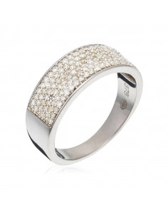 Bague  Orientale Royale Or Jaune et Diamant 0,25ct