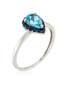 Bague Olympe Or Blanc et Diamant 0,57ct