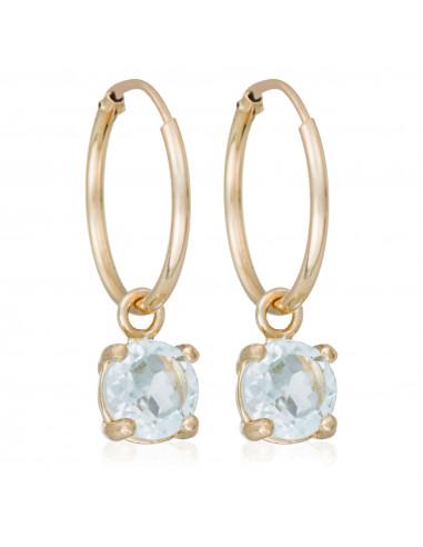Bague Alliance Barette 5 Diam Diamant 0,2ct Or Blanc