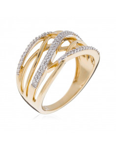 Bague Magical Or Jaune et Diamant 0,3ct  0,3ct