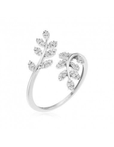 Bague Carla Or Blanc et Diamant 0,18ct