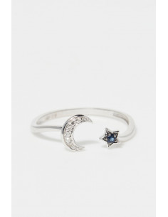 Bague Enivrante Diamant 1,25ct Or Blanc