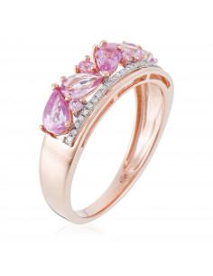 Bague Merveilleuse Diamant 1,53ct Or Blanc