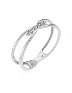 Bague Solitaire Mademoiselle Or Blanc et Diamant 0,29ct