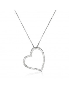 Collier diamant perce Shiny Diamants 0,22/3