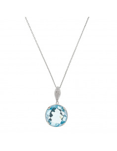 Collier Sunshine Diamants 0,22/7