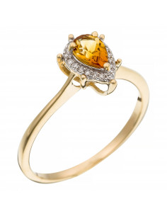 Bague Bel Eclat Diamants D0,19ct/30