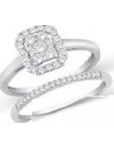 Pendentif poire Diamants