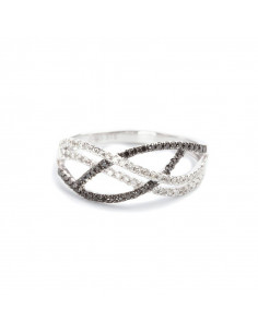 Bague Désir Or Blanc et Diamant 1ct