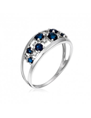 Bague Dreams Or Blanc et Diamant 0,1ct