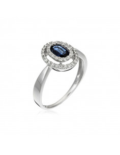 Bague Guapa Or Bicolore  et Diamant 0,1ct
