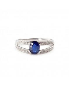 Bague Guapa Or Blanc et Diamant 0,1ct