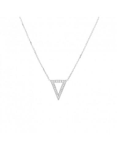Bague Entrelacs Mysterieux Or Blanc et Diamant 0,5ct