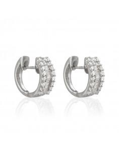 Bague Douceur Topaze Or Blanc et Diamant 0,1ct Topaze 1,69ct