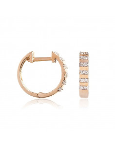 Bague Trio de topazes Or Blanc et Diamant 0,09ct Topaze 0,75ct