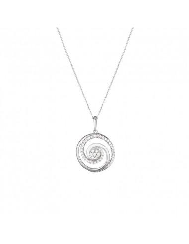 Boucles d'oreilles Précieux diamants Or Blanc et Diamant 0,51ct