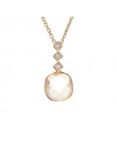 Boucles d'oreilles Puces 0,25 Or Blanc et Diamant 0,25ct