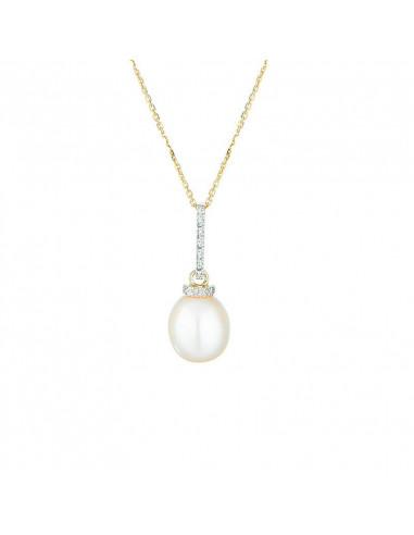 Boucles d'oreilles Triangles précieux Or Blanc et Diamant 0,2ct