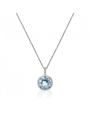 Boucles d'oreilles Etoile PM Or Blanc et Diamant 0,004ct