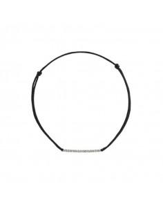 Boucles d'oreilles Bulles Océane Or Blanc et Diamant 0,11ct Saphir 2,76ct