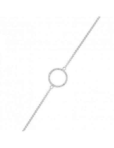 Boucles d'oreilles Ovales Rubis Or Blanc et Diamant 0,08ct Rubis 0,9ct
