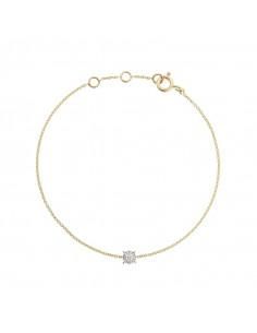 Boucles d'oreilles Bleu Envoûtant Or Blanc et Diamant 0,02ct Saphir 1,52ct