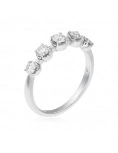 Pendentif Ma Princesse Or Blanc et Diamant 0,25ct