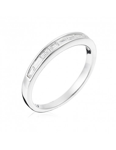 Pendentif Cercle enchanté Or Blanc et Diamant 0,08ct