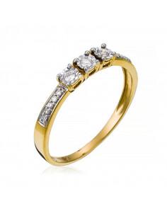 Pendentif Précieuse Topaze Or Blanc et Diamant 0,01ct Topaze 1,43ct