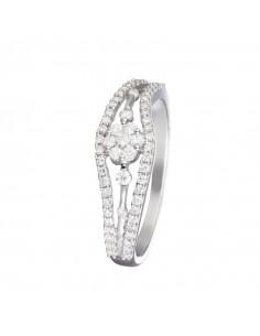 Pendentif Joli Coeur PM Or Blanc et Diamant 0,07ct