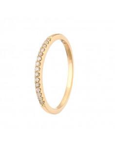 Bracelet Rivière 0,5ct carat Or Blanc et Diamant 0,5ct