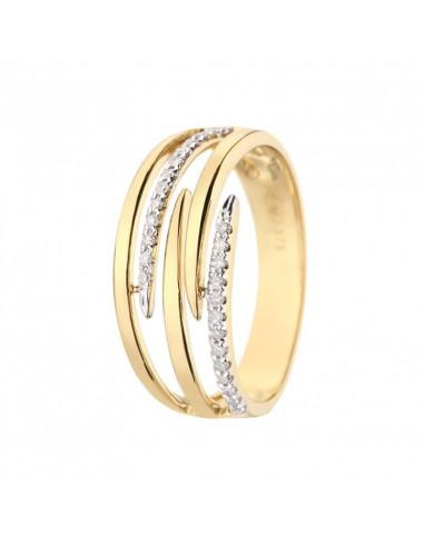 Bracelet Rivière éclatante Or Blanc et Diamant 0,38ct