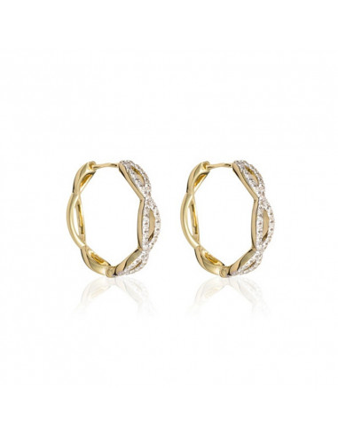 Bracelet Charmy Diamonds Or Blanc et Diamant 0,28ct
