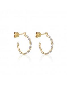 Bracelet Simply Diamonds Or Jaune et Diamant 0,04ct