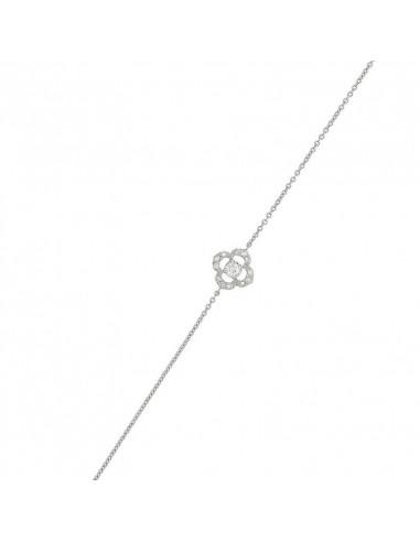 Bague Flèche de l'Amour Or Blanc et Diamant 0,09ct