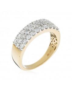Pendentif Tourbillon Or Blanc et Diamant 3,01ct