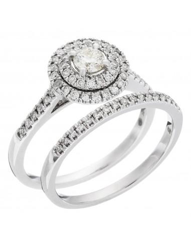Collier Brillant d'amour Or Jaune et Diamant 0,2ct