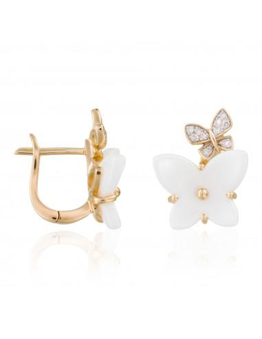 """Boucles d'oreilles """"Enisa"""" D 0,0080/20 Céramique 2"""