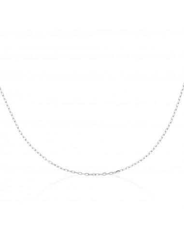 Chaîne Or Blanc 375/1000 en Or Blanc 375/1000 43cm