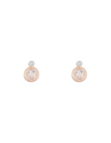 Boucles d'oreilles Or Rose 375/1000