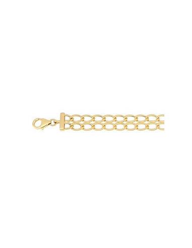 """Bracelet Or Jaune 375/1000 """"Maille Piapo"""" Or Jaune 375/1000"""