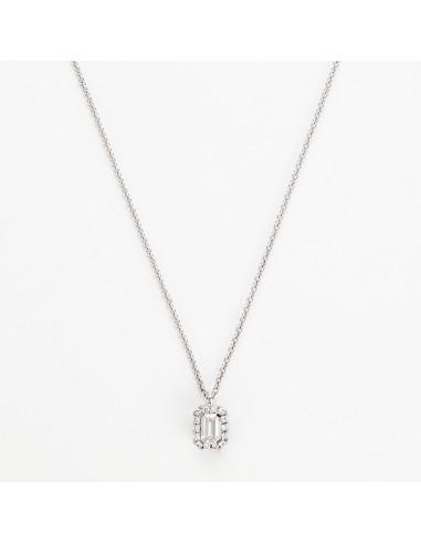 """Collier """"Enchantement"""" Diamants D0,32/1 D0,1/14"""