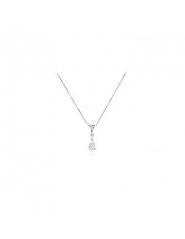 Collier Éros Or Blanc et Diamant 0,56ct