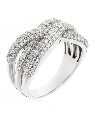 Bague Whitsunday Or Blanc et Diamants  0,77 carats